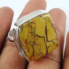925 Sterling Silver Jewellery Fashion Brecciated Mookaite Gemstone Ring Großhändler