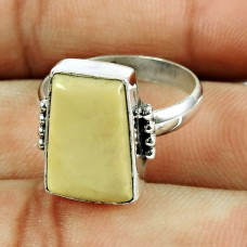 925 Sterling Silver Gemstone Jewellery Pretty Jasper Gemstone Ring