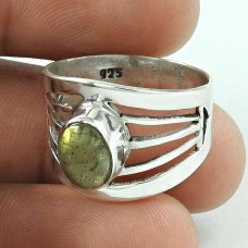 Beautiful Labradorite Gemstone Sterling Silver Ring 925 Silver Jewellery