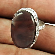 925 Sterling Silver Jewellery Beautiful Butterfly Jasper Gemstone Designer Ring