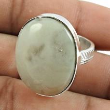 Party Wear 925 Sterling Silver Jasper Gemstone Ring Ethnic Jewellery