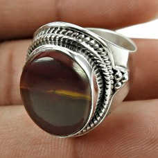 Amusable 925 Sterling Silver Mookaite Gemstone Ring Jewellery