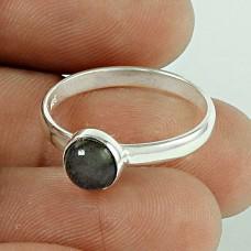 Graceful ! Labradorite Gemstone 925 Sterling Silver Ring Wholesaling