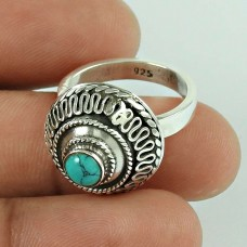 Ivy Precious! 925 Silver Turquoise Ring