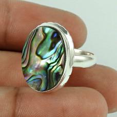 Lilac Kiss! 925 Silver Shell Ring
