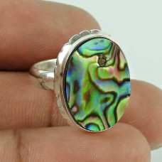 Spectacular Design! 925 Silver Shell Ring