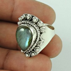 Fantastic Quality Of! 925 Silver Labradorite Ring Wholesale