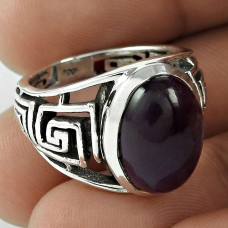 Exclusive! 925 Silver Amethyst Ring