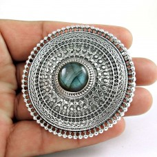 Big Special Moment! 925 Silver Labradorite Ring Manufacturer