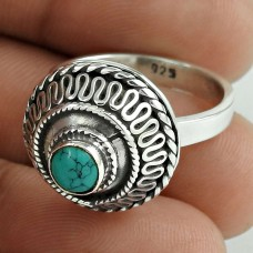 Jumbo Fantastic! 925 Silver Turquoise Ring