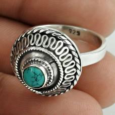 Jumbo Fantastic! 925 Silver Turquoise Ring