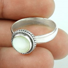 Fabulous! 925 Silver MOP Ring Hersteller