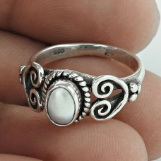 Franqipani Queen! 925 Silver Pearl Ring Wholesale
