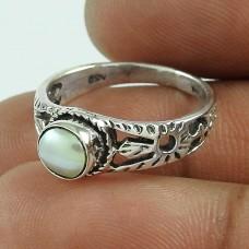 New Fashion! 925 Silver Pearl Ring Mayorista