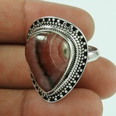 The One! 925 Silver Rhodochrosite Ring Fournisseur