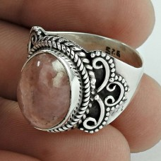Great Creation!! Rodochrosite 925 Sterling Silver Ring