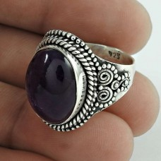 Paradise Bloom! 925 Silver Amethyst Ring Fabricant