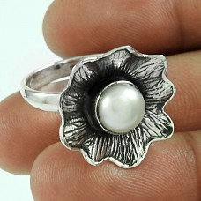My Sweet!! Pearl 925 Sterling Silver Ring