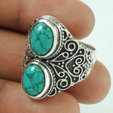 Great! 925 Silver Turquoise Ring
