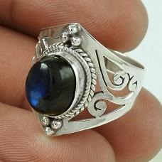 Gorgeous!! Labradorite 925 Sterling Silver Ring