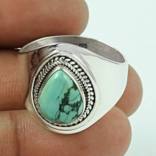 Great Creation!! Turquoise 925 Sterling Silver Ring