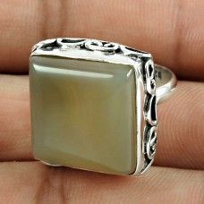 Stunning 925 Sterling Silver Onyx Gemstone Ring Jewellery