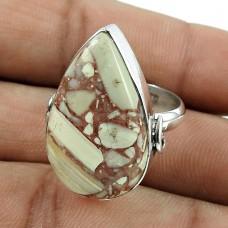 Fashion 925 Sterling Silver Rosetta Gemstone Ring Antique Jewellery