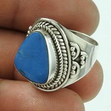 Party Wear 925 Sterling Silver Opal Gemstone Ethnic Ring Jewellery