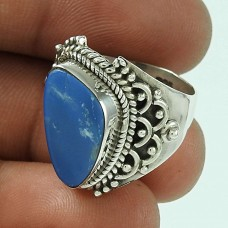 Large Stunning !! 925 Sterling Silver Opal Ring