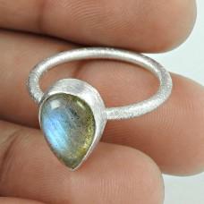 Lavender Dreams!! Labradorite 925 Sterling Silver Ring Grossiste