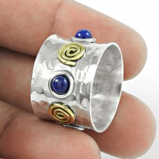 Blue Lapis Gemstone Sterling Silver Ring Jewellery