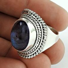 925 Silver Jewellery Beautiful Labradorite Gemstone Ring Fabricante