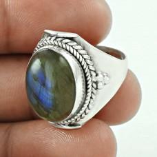 Stylish ! Labradorite Gemstone 925 Sterling Silver Ring Hersteller