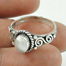 Great ! 925 Sterling Silver Pearl Ring