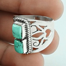 2018 Fashion! 925 Sterling Silver Turquoise Ring