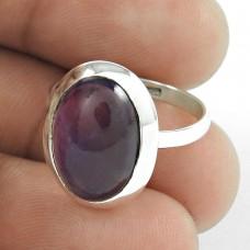 Blooming Garden!! 925 Sterling Silver Amethyst Ring