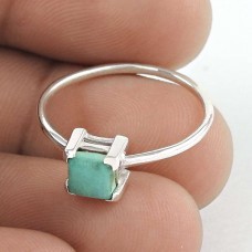 Attractive Turquoise Gemstone Silver Ring Jewellery