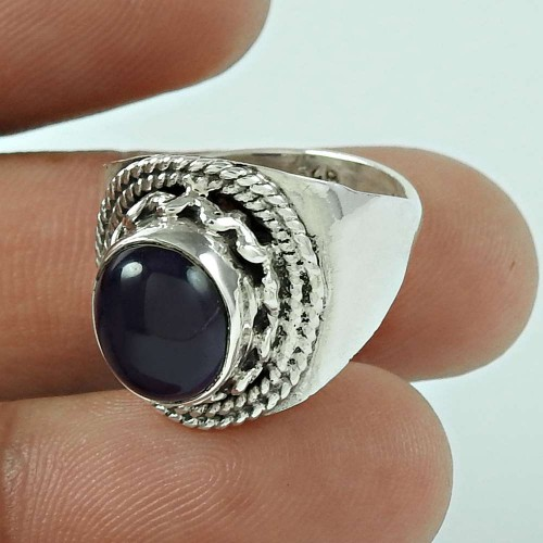 Stunning Amethyst Gemstone 925 Sterling Silver Ring Jewellery Wholesale