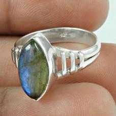 Scenic Labradorite Gemstone Sterling Silver Ring Wholesale Sterling Silver Jewellery