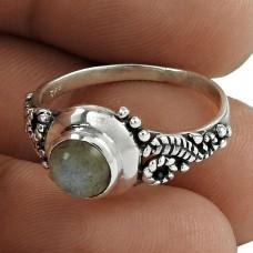 Engaging Labradorite Gemstone Sterling Silver Ring Handmade 925 Sterling Silver Jewellery