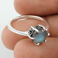 Big Secret ! Labradorite Gemstone 925 Sterling Silver Ring