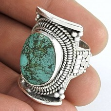 lovable Turquoise Gemstone 925 Sterling Silver Ring