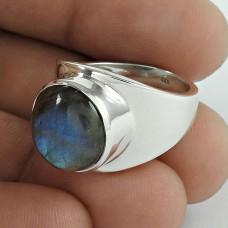 925 Silver Jewellery Charming Labradorite Gemstone Ring Großhandel