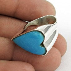 Passion!! 925 Silver Arizona Turquoise Ring