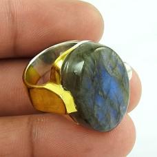 The One! 925 Silver Labradorite Gemstone Ring