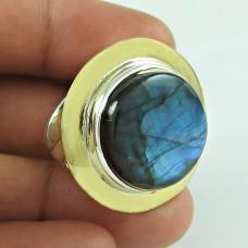 Jumbo Fantastic! 925 Silver Labradorite Gemstone Ring Fournisseur