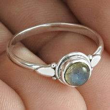 Horse Charm ring Labradorite Gemstone 925 Sterling Silver Ring Jewelry