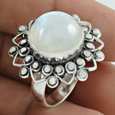 Handy 925 Sterling Silver Rainbow Moonstone Gemstone Ring Ethnic Jewelry Hersteller