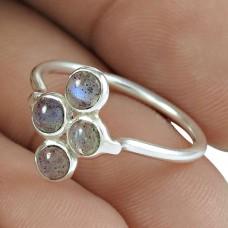 Beautiful 925 Sterling Silver Labradorite Gemstone Ring Jewelry Hersteller