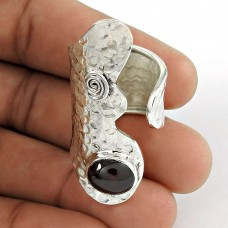 Big Special Moment! 925 Silver Garnet Ring